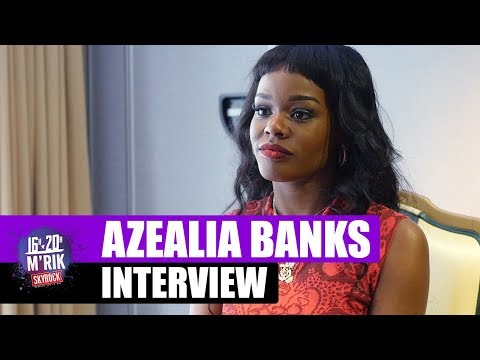 Azealia Banks l'interview skyrock by M'rik - Skyrock