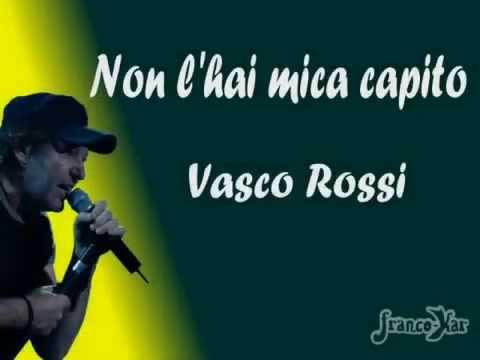 Vasco Rossi  non l'hai mica capito karaoke by FuxioKaraoke