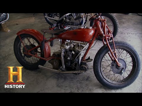 American Pickers: Marlin's Motorcycle Mancave (Season 12) | History