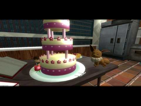 Eevee and Friends: Bake a Cake