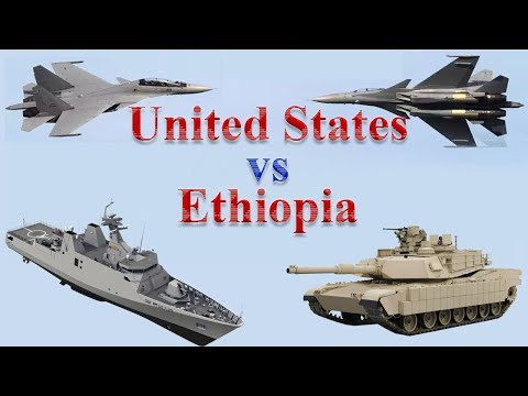 United States vs Ethiopia Military Power 2017