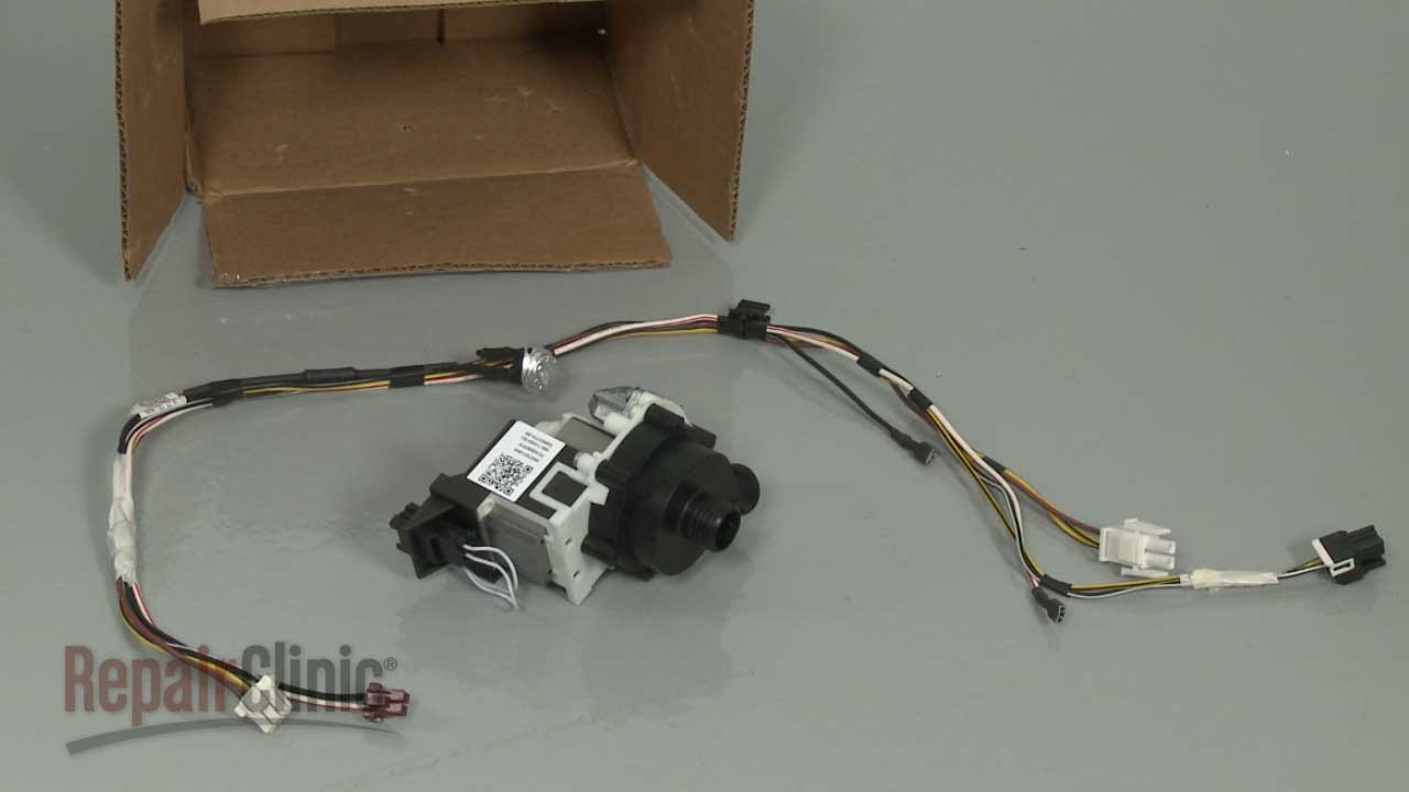 GE Dishwasher Drain Pump Replacement #WD35X20875 on
