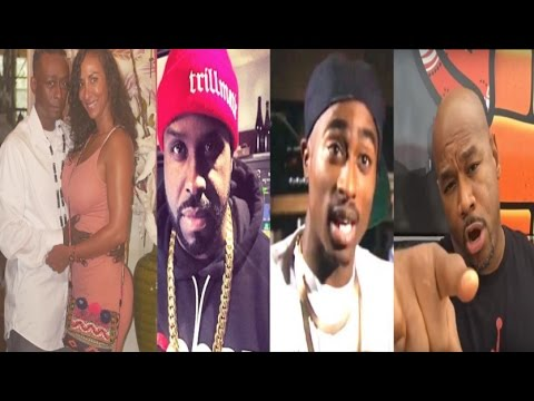 Ginuwine & Sole defend her relationship w/Pro.Griff+Funk Master Flex & Wack100 GO IN on 2Pac