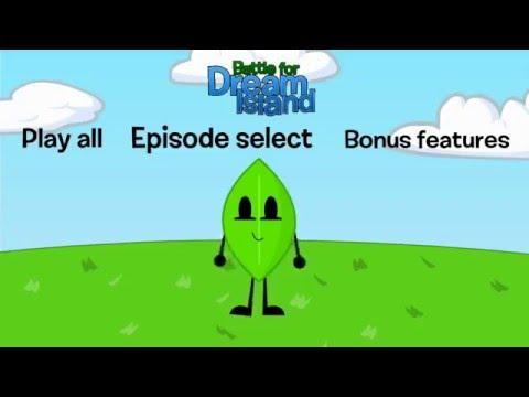Battle for Dream Island DVD Menus I made