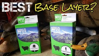 Minus 33 Base layer REVIEW