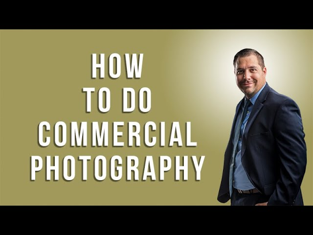 How to do Commercial Photography with Jeffrey Ross