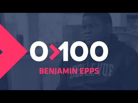 Youtube: Benjamin Epps:«Si je rappe avec Alpha ou Nekfeu c'est pour être le meilleur» I 0 à 100