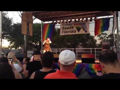 "Pride Ft Lauderdale 2014 Tiffany ""I Saw Him Standing There"""