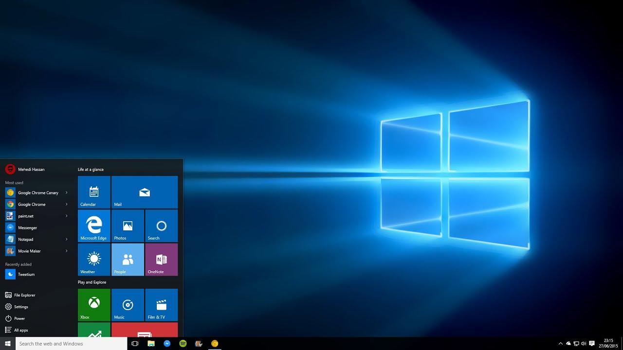 Windows afficher les icônes du bureau ce pc corbeille