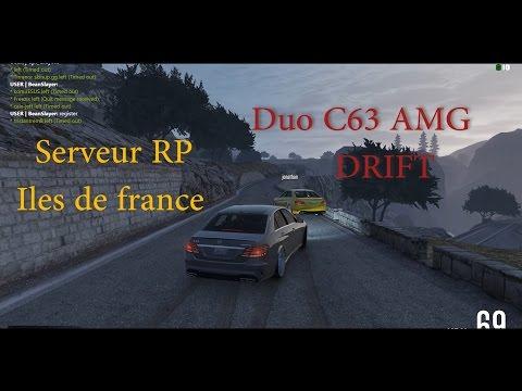 GTA 5 RP - Mercedes Benz E63 Drift - Côte D'Azur