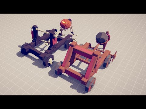 CATAPULTS DUO Vs EVERY UNIT - Totally Accurate Battle Simulator TABS