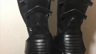 1989 Batman boots Nike Air Trainer 3s