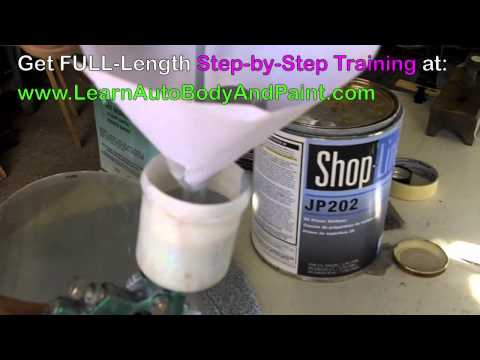 NEW! Car Bodywork – Auto Body Paint Repair Training Video 2_5