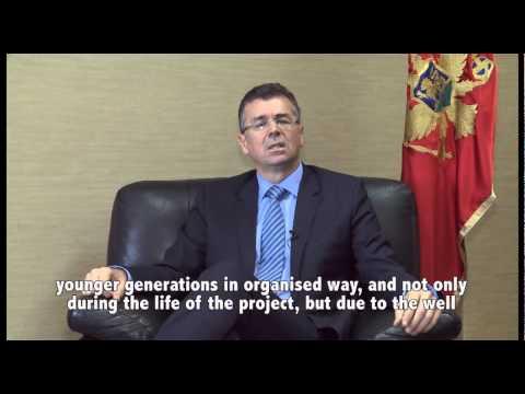Branimir Gvozdenovic, Minister, Sustainable Development and Tourism, Montenegro