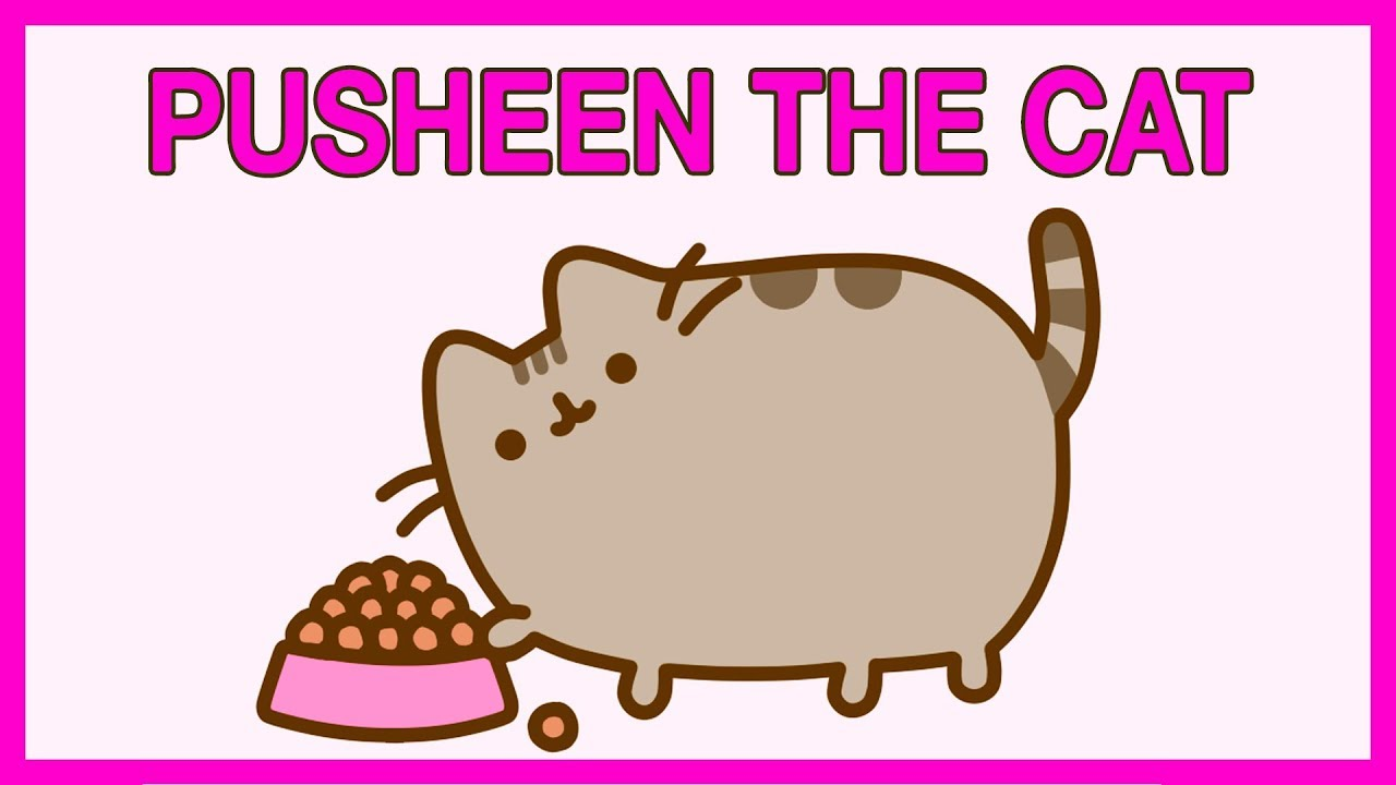 Pusheeen The Cat Videos Funny Pusheen Video Compilation Youtube