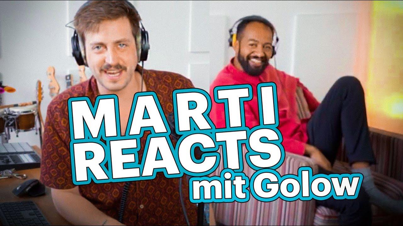 Download 4 Ohren für ein Halleluja mit Golow | #MartiReacts