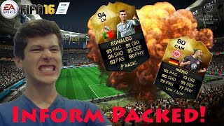 I PULLED AN INFORM!! | FIFA 16 Pack Opening |