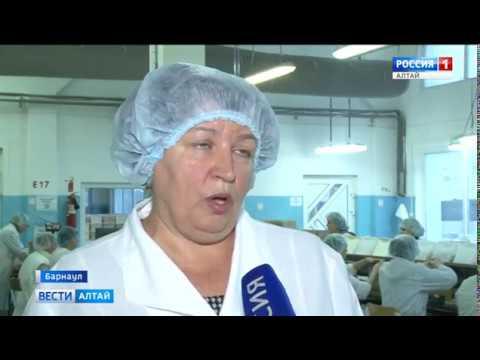 На кондитерской фабрике «Алтай» показали производство конфет для детей с целиакией