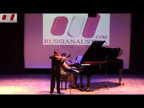 Ballade and Polonaise. Eldar Sagbetov (Violin). Children's Art School. Kaspiysk. Dagestan. Russia