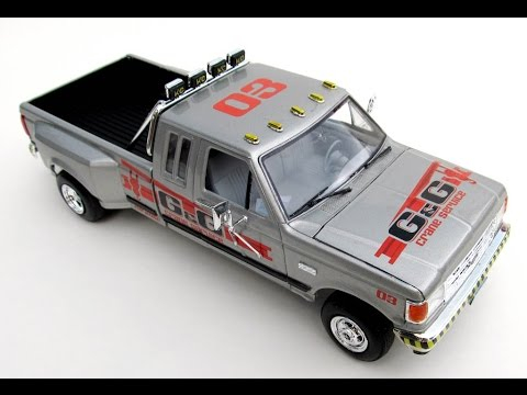 How To Build The 1991 Ford F 350 Dually Scale Model Kit 85 4376