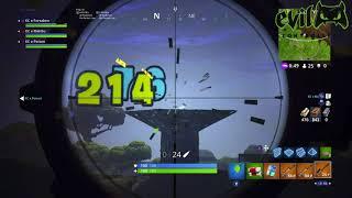 Evil SHIFT Gameplay | Fortnite Sniper Montage