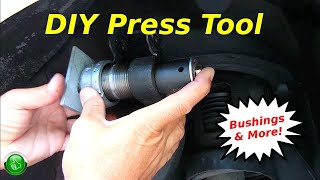 How To Replace Control Arm & Trailing Arm Bushings(DIY Tool)
