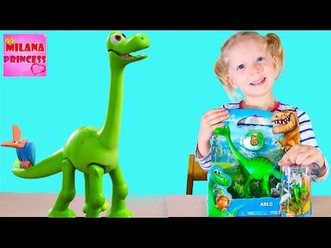 Хороший динозавр игрушка Арло, коллекция динозавров / The Good Dinosaur new Arlo Toy collection