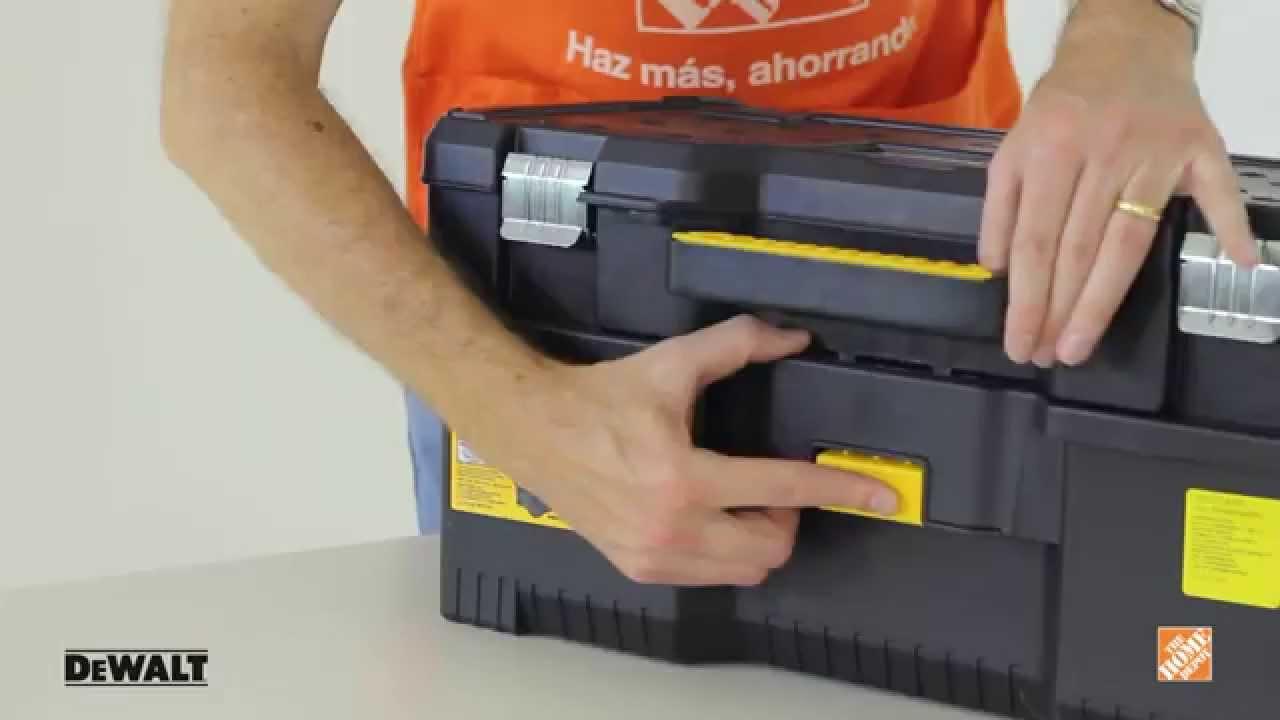 Caja para herramientas de 24 dewalt youtube for Home depot herramientas