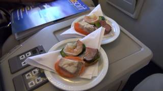 Fly Air Vanuatu, Business Class, Brisbane to Port Vila, Boeing 737