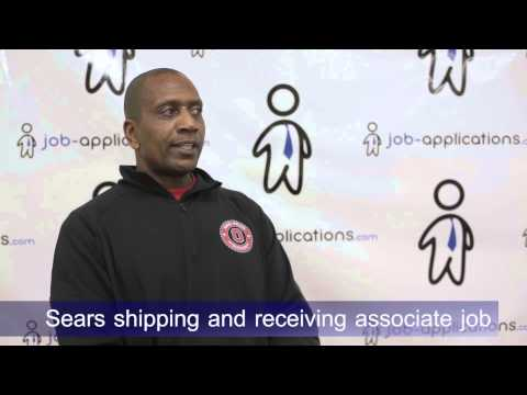 Sears Interview - Shipping and Receiving Associate