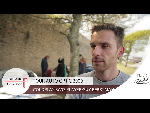 Guy Berryman (Coldplay) in the second stage (Saint-Malo - Nantes)
