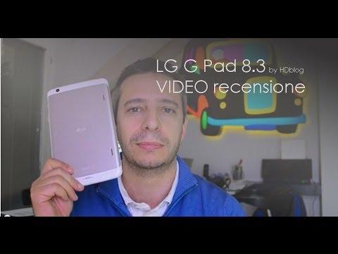 LG G Pad 8.3 videoreview da HDblog.it