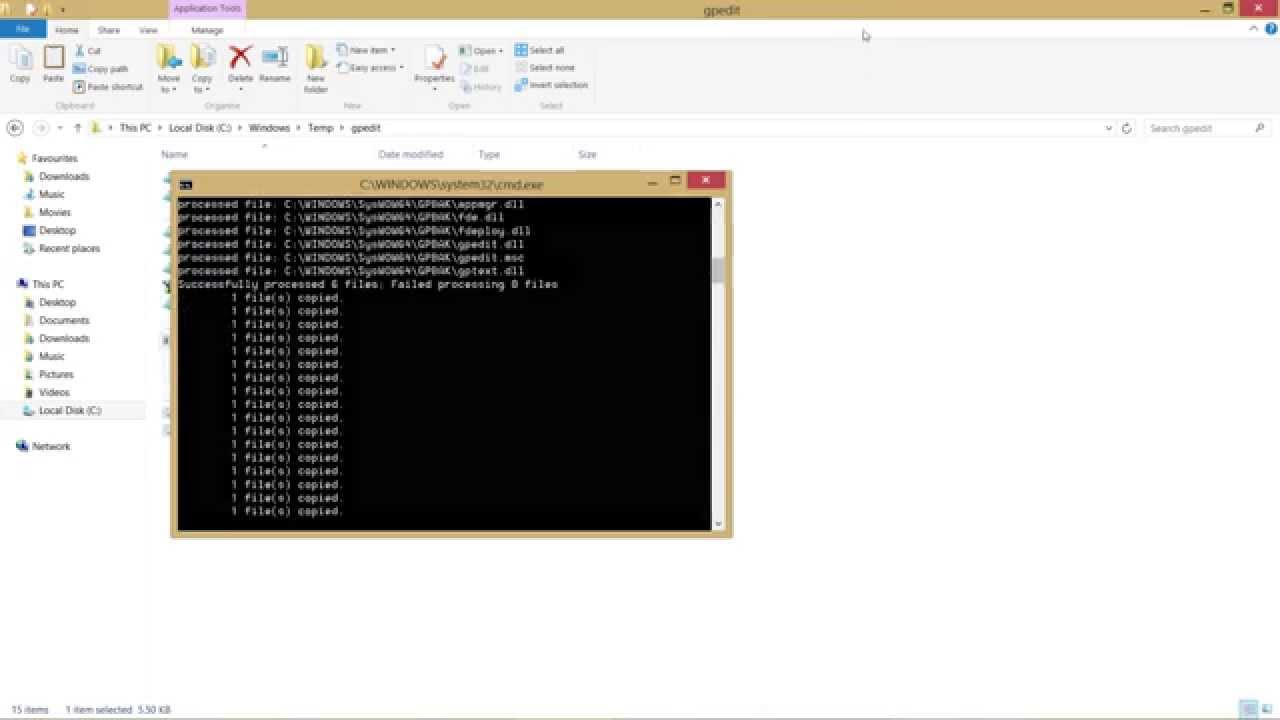 Windows 7 open local group policy editor - How To Get Gpedit Msc Group Policy On Microsoft Windows 10 8 1 8 Youtube