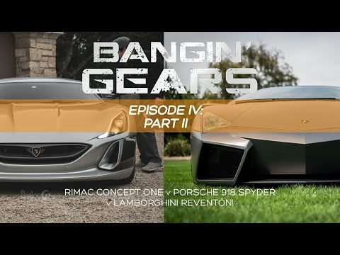 GETTING TO KNOW THE RIMAC CONCEPT ONE & LAMBORGHINI REVENTÓN! BANGIN' GEARS - Ep. 4 PART 2 of 3