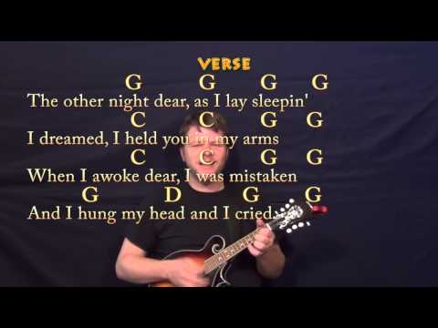 You Are My Sunshine - Mandolin Cover Lesson with Chords, Lyrics