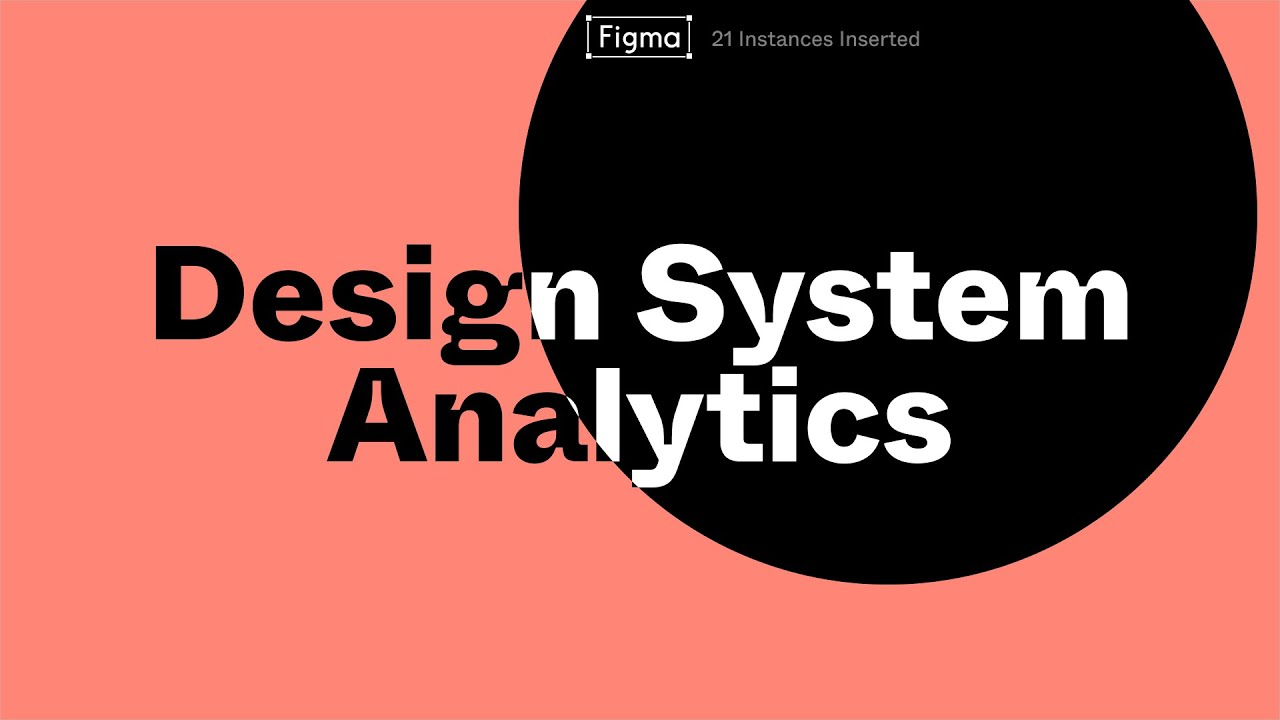 Design System Analytics Feature Highlight Youtube