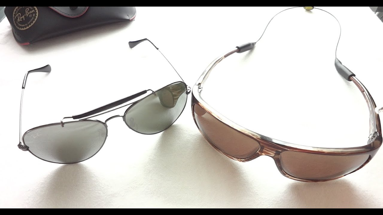 are maui jim sunglasses better than ray bans  maui jim island time polarized vs rayban aviator sunglasses review