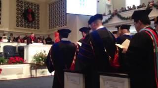Dr. John Thomas English, III graduating from SBTS