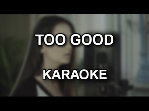 Jasmine Thompson - Too good [karaoke/instrumental] - Polinstrumentalista