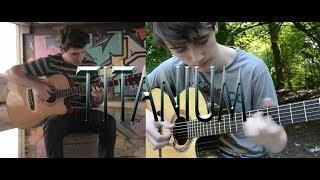 Titanium - David Guetta (fingerstyle guitar cover by Peter Gergely & Eddie van der Meer)