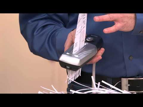 Craig Handheld Portable Paper Shredder with Alberti Popaj