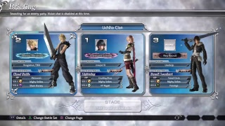 Dissidia NT open beta - Taking W's and L's