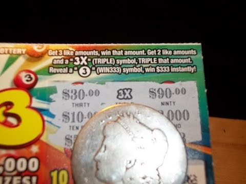 ((NICE WIN)) 333 $1 TICKET~PA LOTTERY SCRATCH OFF INSTANT GAMES