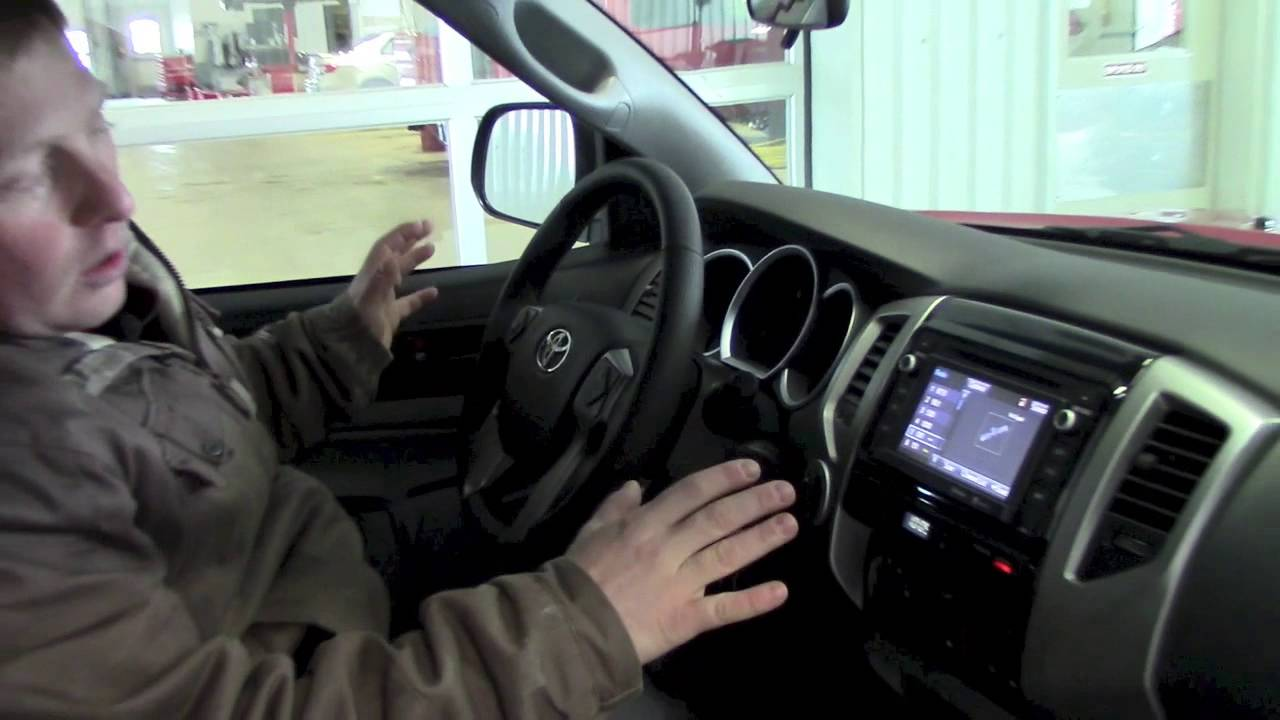 2014 Toyota Tacoma >> David Walk Around of a 2014 Toyota Tacoma Double Cab for Ian - YouTube