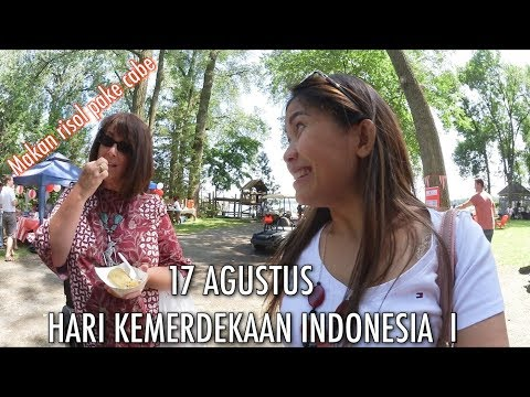 HARI KEMERDEKA AN 17 AGUSTUS DI MINNESOTA I    BAZAAR MAKANAN INDONESIA ENAK-ENAK!