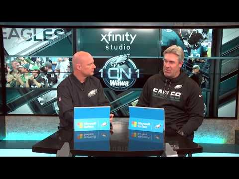 Eagles One-On-One: Head Coach Doug Pederson (1/16/18)