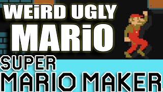 Super Mario Maker / WEEEEIRD WONKY Mario / UGLY Mario