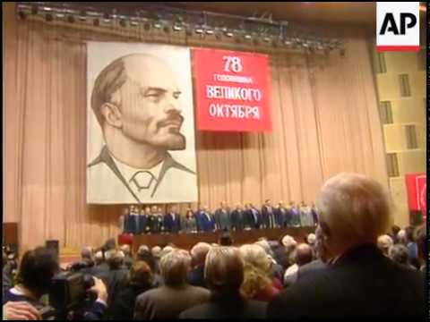 1995 November 7 - The Anthem of The Soviet Union Revolution Congress - Communist Party of Russia