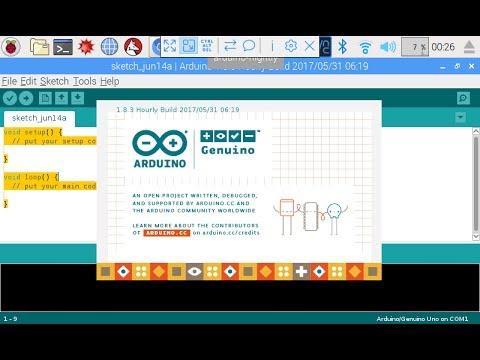 Install and run Arduino IDE on Raspberry Pi/Raspbian Jessie with PIXEL