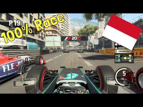 F1 2015 - 100% Race at Circuit de Monaco in Rosberg's Mercedes